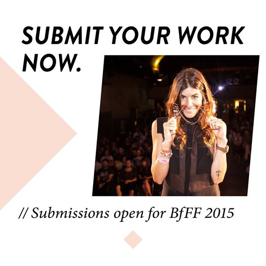 Submit your Work - Flyer