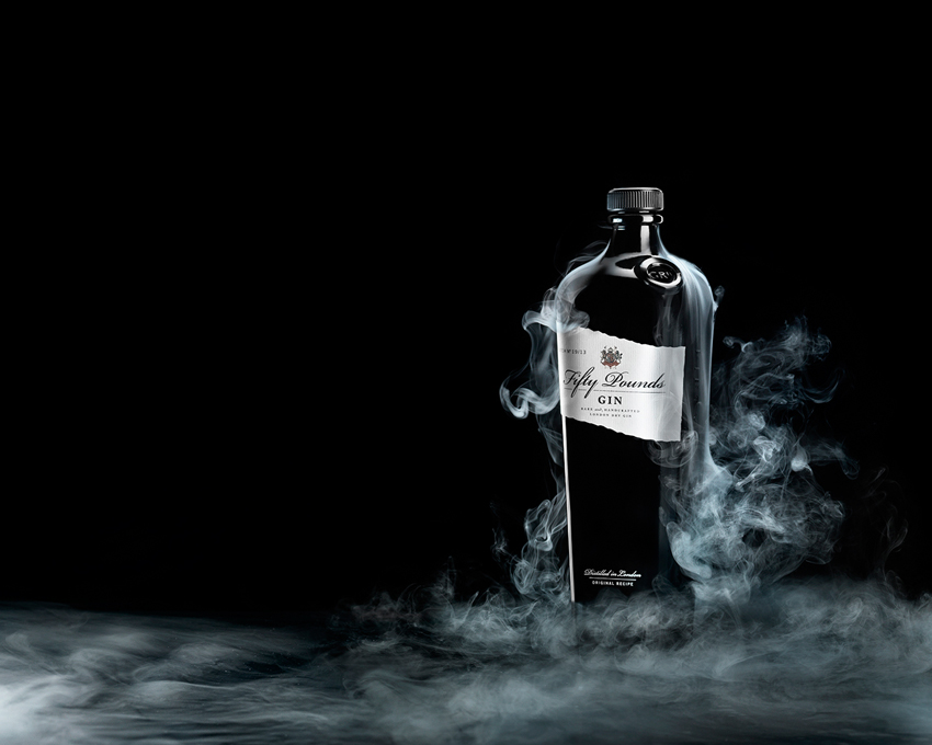 Giorgio Cravero's Food & Drink Photography - Fifty Pounds Gin