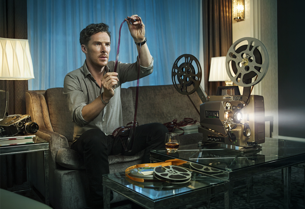 British actor Benedict Cumberbatch, photographed by New York based Celebrity photographer Dale May