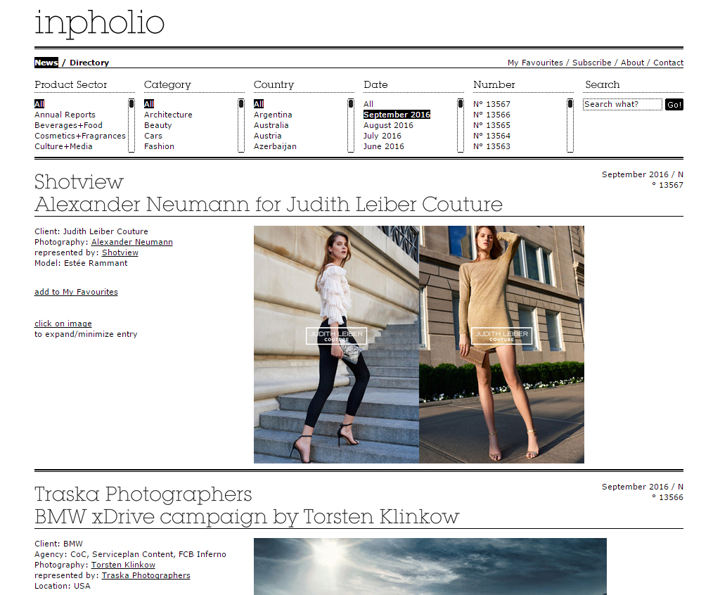 infolio-home-page