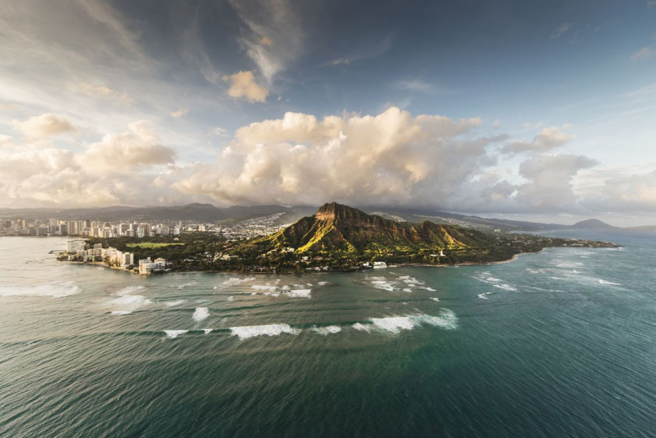 Aerial Photography in Hawaii by Howard Kingsnorth