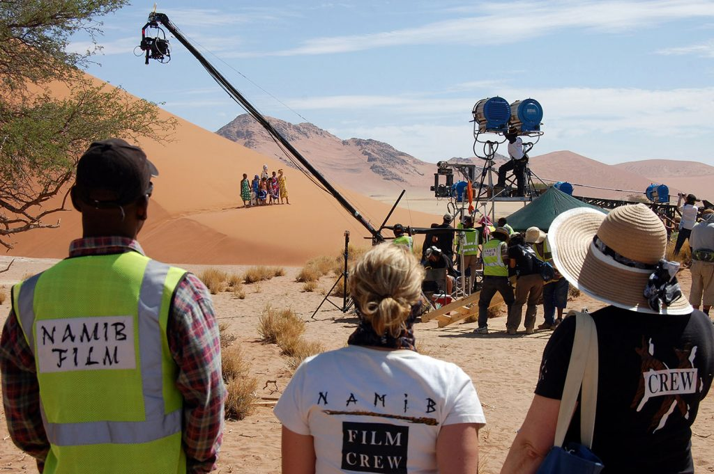 Filming in Africa with Namib Film – from blockbuster movies to commercials and small productions