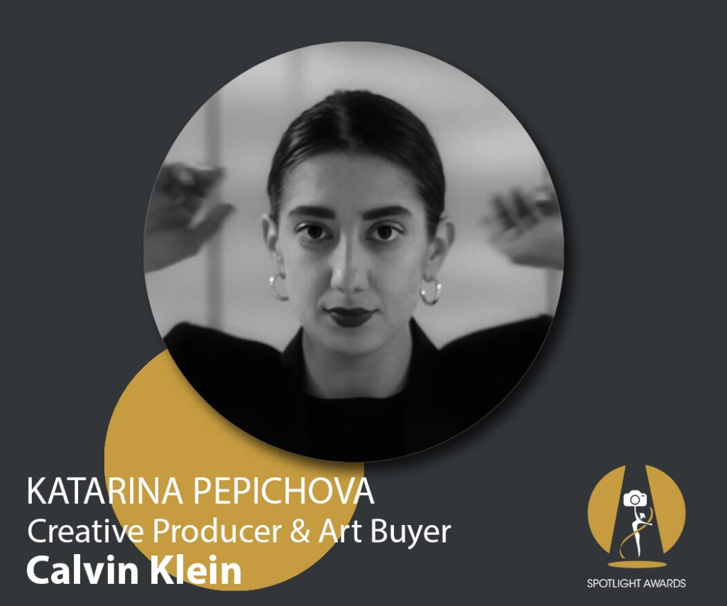Calvin Klein's Creative Producer & Art Buyer Katarina Pepichova about Lingerie Photography trends, activism and more