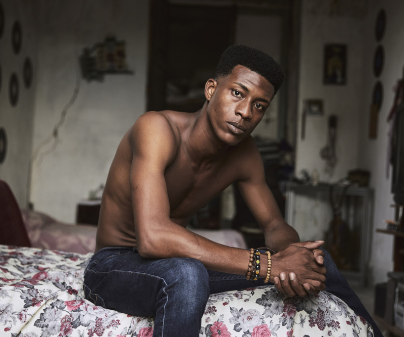 The story behind the best portrait of 2020 by an emerging photographer Ba...