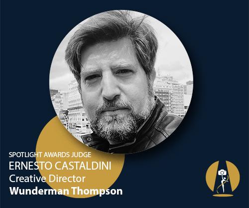 Creative Director at Wunderman Thompson & Spotlight Awards judge Ern...
