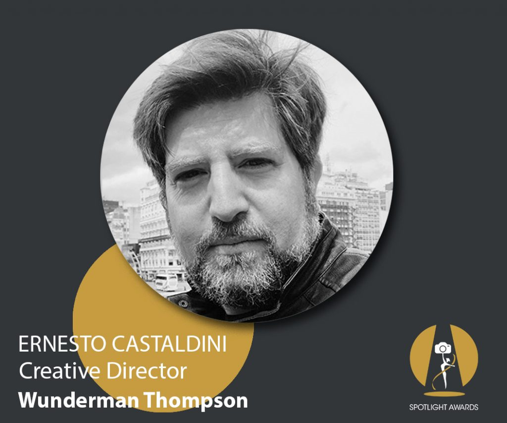 Creative Director at Wunderman Thompson & Spotlight Awards judge Ernesto Castaldini's on post-pandemic advertising industry and how exposure is key