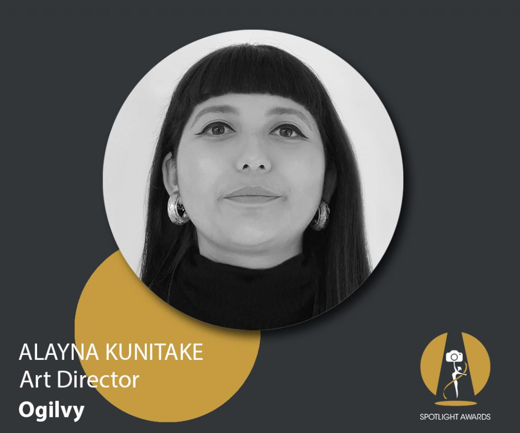 The celebration of realness in the advertising industry with Alayna Kunitake, Art Director at Ogilvy and Spotlight Awards judge