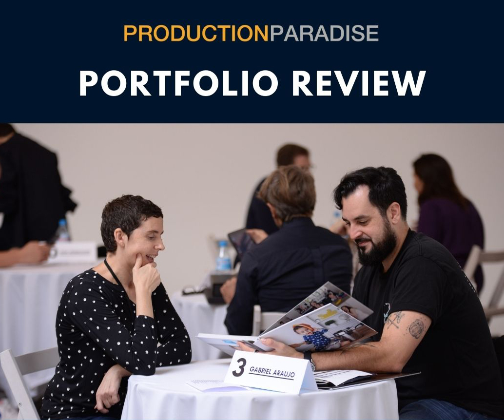 Join us at Production Paradise's Porfolio Review event for Photogra...