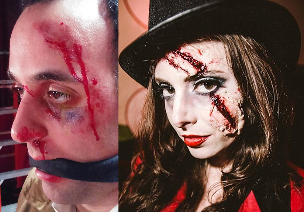 special effects/ silicone & make up