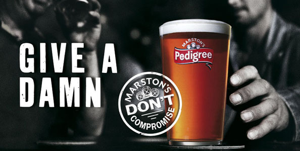 Client: Marston's Pedigree beer gallery
