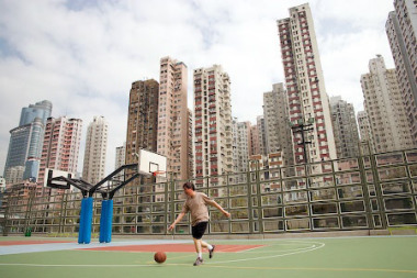 Basket Ball Court, Loi Lam Estate, Kowloon, Hong Kong gallery