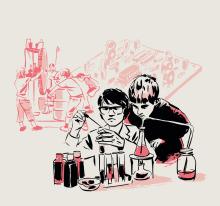 kombinatrotweiss. illustration