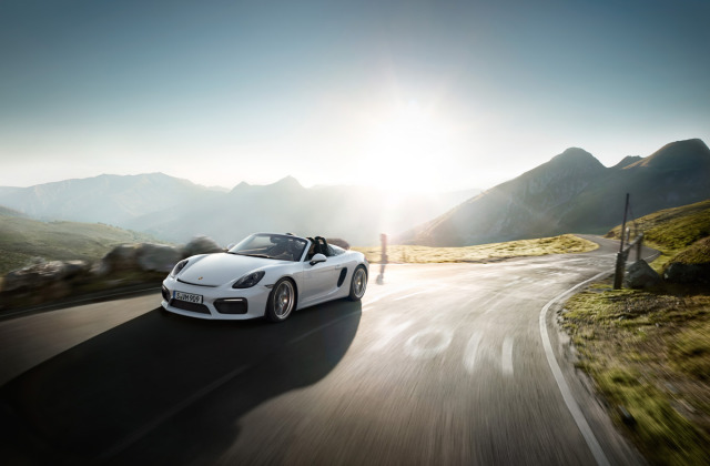 Project: Porsche Boxster Spyder Catalogue gallery