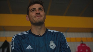 Adidas Predator Instinct with  Iker Casillas. By Iker Elorrieta @ Aproductions gallery