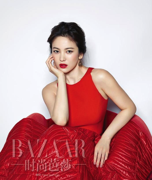 Title: Harper's Bazaar China Dec 2014 Cover feat. Song Hye Kyo gallery