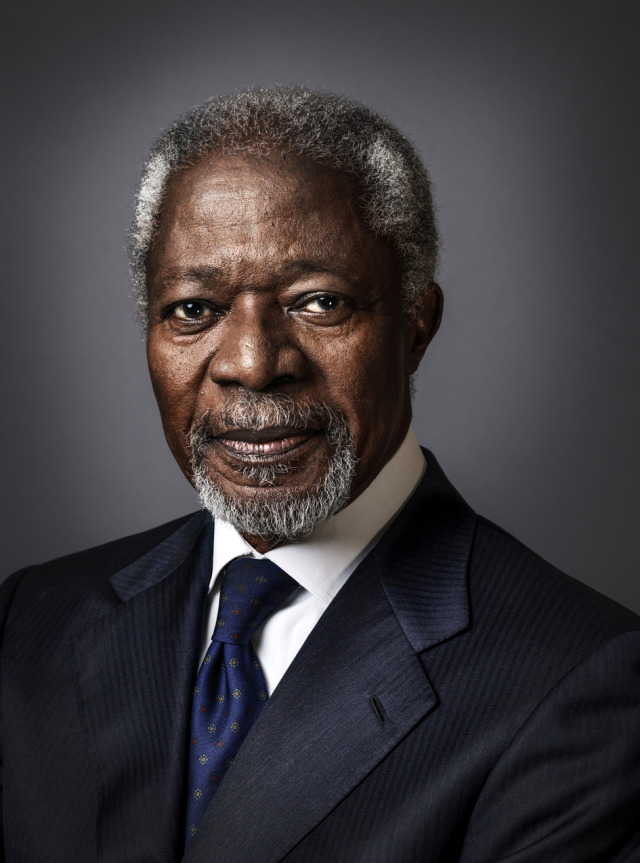 Photo: Kofi Annan by Perou gallery