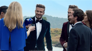David Beckham's Extended HAIG CLUB™ Ad gallery