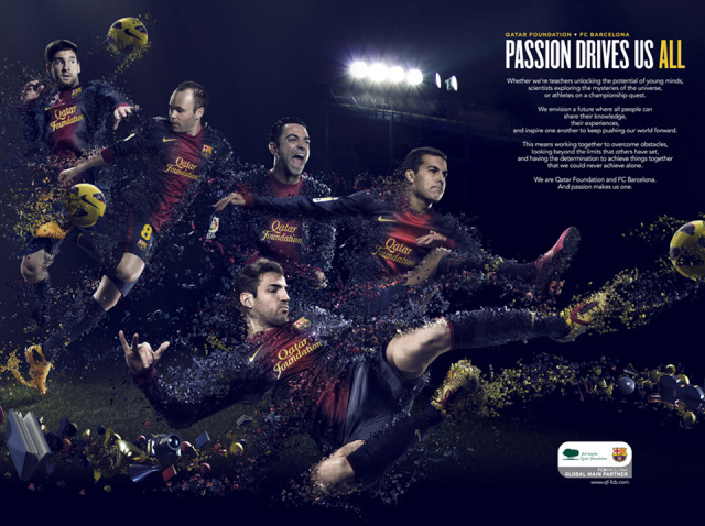 Client: Qatar Foundation FCB gallery