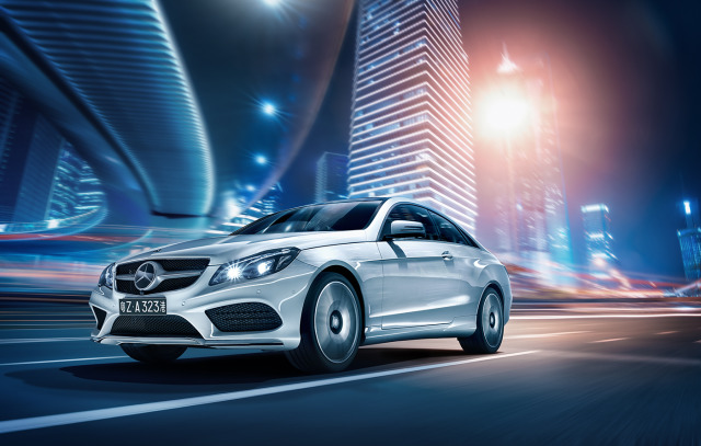 Client: Mercedes-Benz Australasia -  Vehicle E-Class Coupe Sport gallery