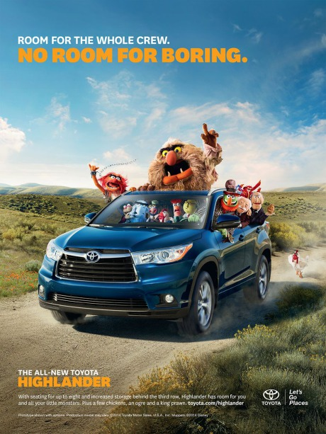 Campaign: Toyota Highlander gallery