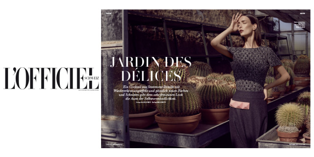 Magazine: L'Officiel Schweiz gallery