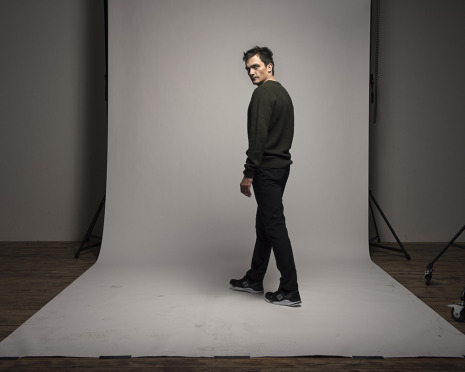 Rupert Friend at Heynstudios by Frank Bauer for the Guardian