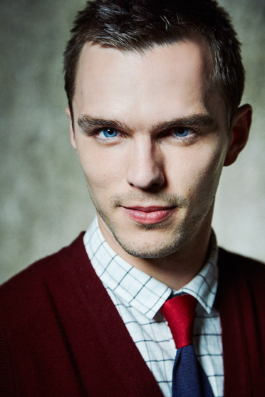Actor Nicholas Hoult by Alister Thorpe represented by Esser Associates