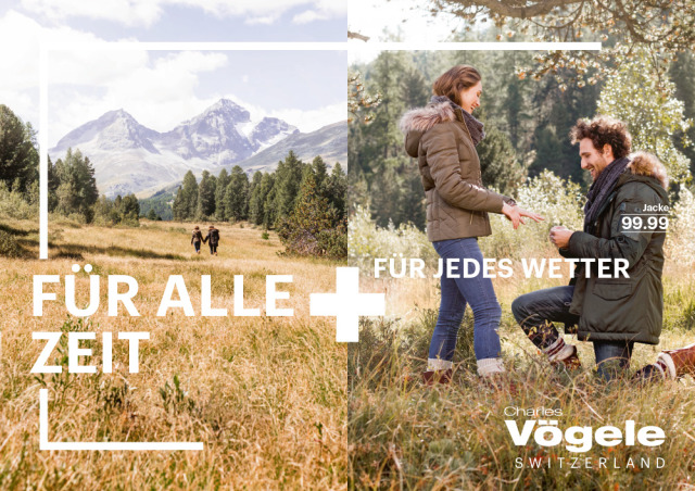 Client: Charles Vögele Campaign gallery