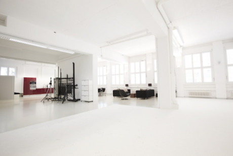 Studio with channeling gallery