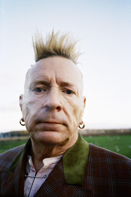 Photographer: Georg Gatsas shot John Lydon for Zeit magazine gallery