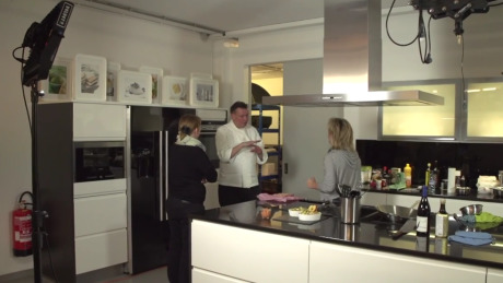 Client: Mövenpick - Making of in the show kitchen WPS gallery