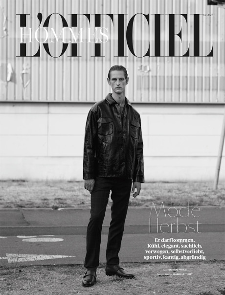 Magazine: L'Officiel Hommes Germany F/W 2015 gallery