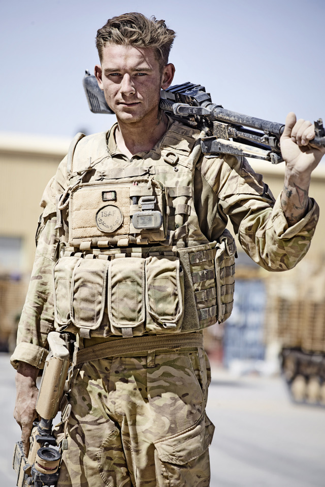 Photographer: Robert Wilson for Helmand Return exhibition gallery