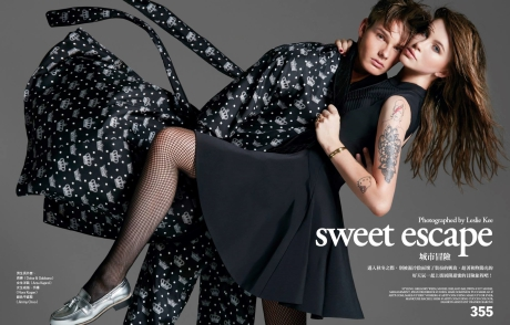 Ireland Bassinger Baldwin and Ryan Federick for Vogue Taiwan by Leslie Kee gallery