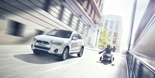 Mitsubishi ASX 'Adventure Advanced' press ad gallery