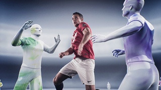 Epson spot featuring players from Manchester United FC gallery