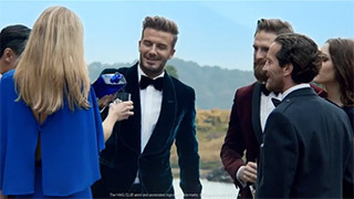 Guy Ritchie's extended cut of David Beckham in the new Haig Club™ TV ad, ''Welcome'' gallery