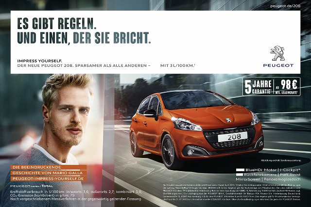 Bernd Opitz for Peugeot gallery