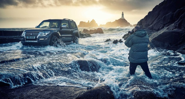 Mitsubishi Shogun Press Campaign 2016 - Behind The Scenes gallery