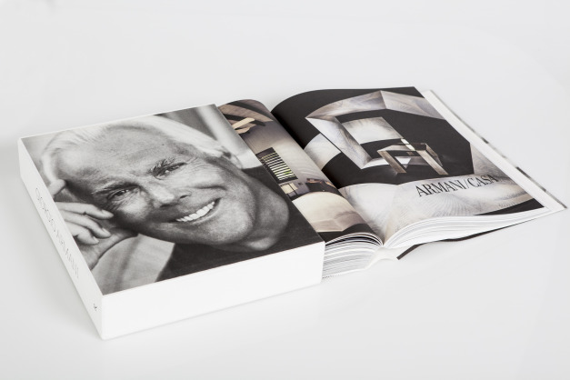 Armani's 40th Anniversary book - Armani