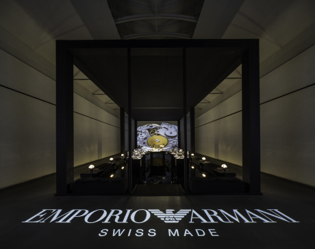 Architecture shot for Fossil / Emporio Armani, Milan, 2013