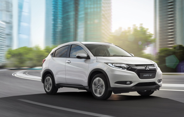 Honda HR-V studio shot gallery