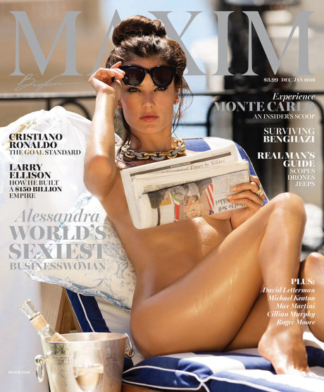 Photo: Gilles Bensimon for Maxim gallery