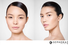 selves: beauty retouching