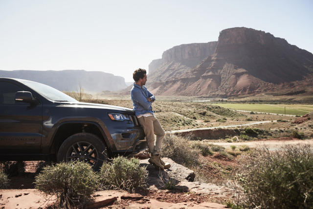 Elyas M´Barek  for Jeep gallery