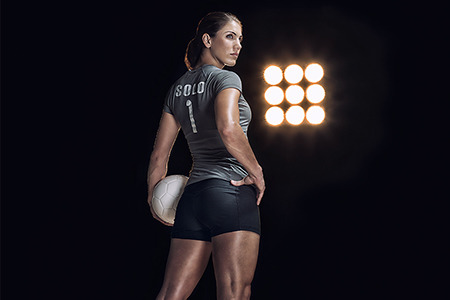 Hope Solo for Seiko gallery