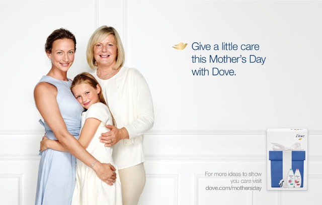 Photographer: Michelle Holden for Dove Mother's Day gallery