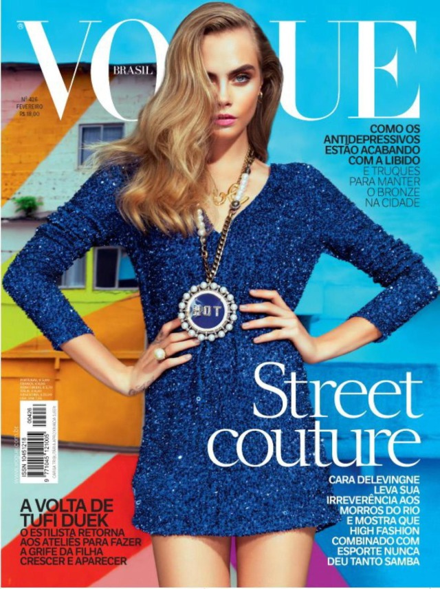Photographer Jaques Dequeker for Vogue, model  Cara Delevingne gallery