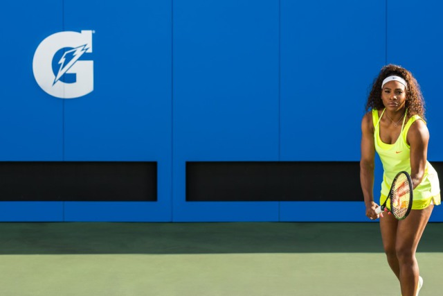 Serena Williams for Gatorade gallery
