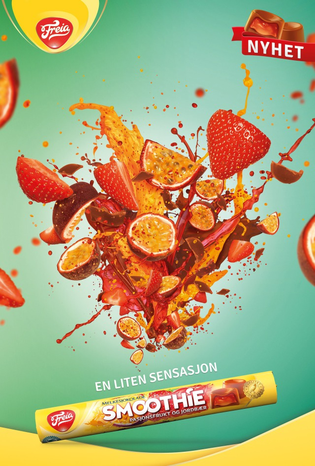 Campaign: Freia Smoothie - Norway gallery